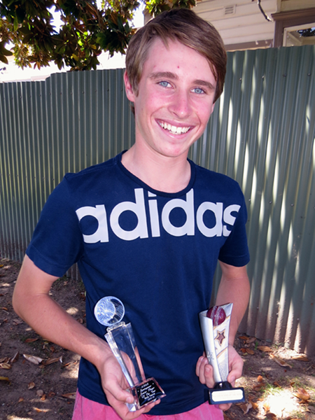 Nick Farrar 2015/16 ADCA Sportspower Junior Cricketer of the Year